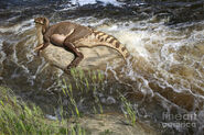 Brachylophosaurus-canadensis-corpse-julius-csotonyi