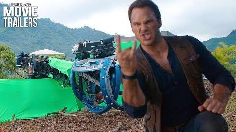 Jurassic World 2 Get a behind the scenes look at the sequel with new footage