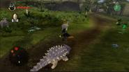 LEGO Dimensions Jurassic World Анкилозавр