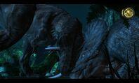 562660-jurassic-park-the-game-windows-screenshot-t-rex-vs-alpha-triceratop