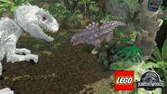 Ankylosaur vs I. rex(LEGO)2