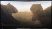 Rex and Giga Roar