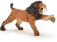 Smilodon roaring papo 23594.1487038018.500.750