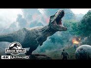 The Volcano Eruption in 4K HDR - Jurassic World- Fallen Kingdom