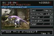 JPIII Park Builder Psittacosaurus