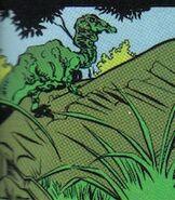 Unidentified Crouching Theropod