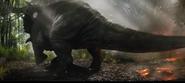 Sinoceratops walking off