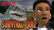 Jurassic World Camp Cretaceous Survival Quiz Netflix Futures