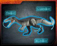 Baryonyx NewTakaraToyJurassicWorldDinosaurs-2-1024x835