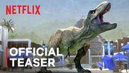 Jurassic World- Camp Cretaceous Season 2 - Official Teaser - Netflix