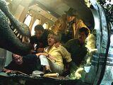 Plane Attack Scene