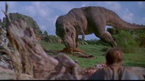 All T-Rex scenes clips - Jurassic Park (1993) - HD