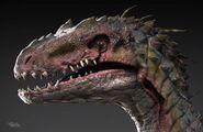 Indoraptor concept art (2)
