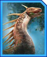 Amargasaurus card