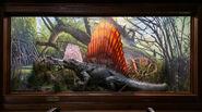 Dimetrodon diorama