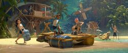 JW Camp Cretaceous Concept Art Beach with Characters.jpg