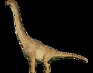 Брахиозавр окрас 1993 (B)