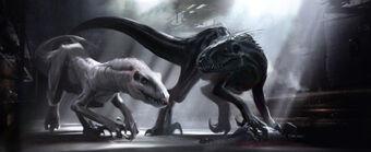 Indoraptor concept art (20)