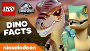 LEGO Jurassic World Dinosaur Facts & Quiz 🦕 TryThis