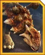 Ankylosaurus card