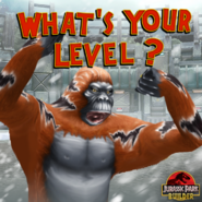 Gigantopithecus what's your level