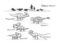 JW Camp Cretaceous Bumpy Herbivores