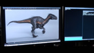 Indoraptor walk cycle 1