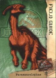 2001 Jurassic Park III 3-D 70 Parasaurolophus front