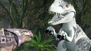 Ankylosaur vs I. rex(LEGO)