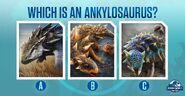 Ankylosaurus Quiz JWA