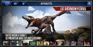 Deinonychus (The Game) annonce