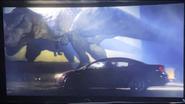JWD Rexy next to a car