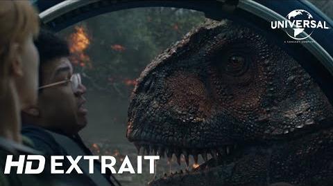 """Jurassic World Fallen Kingdom Extrait """"La Traque Du Carnotaurus"""" VF Au cinéma le 6 juin"""