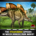 Stegosaurus Promo