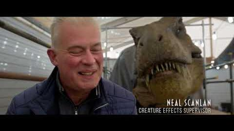 Extended 'Jurassic World Fallen Kingdom' Behind the Scenes Making Of