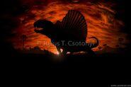 Permian Dimetrodon Csotonyi2