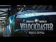 FIRST LOOK- Jurassic World VelociCoaster Ride Vehicle