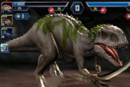 Jurassic world the game indominus rex by indominusrex-d8v75hq