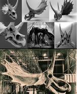 Agujaceratops skull
