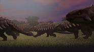 Ankylosaurus running 1