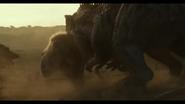 Giga attacking a Rex
