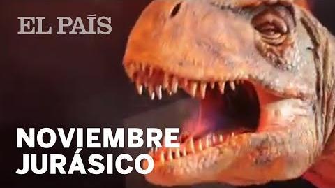 EXPOSICIÓN JURASSIC WORLD Los dinosaurios conquistan los escenarios