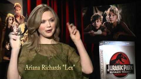 "Jurassic Park Interview with Ariana Richards ""Lex"""