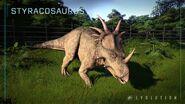 Jwe styracosaurus