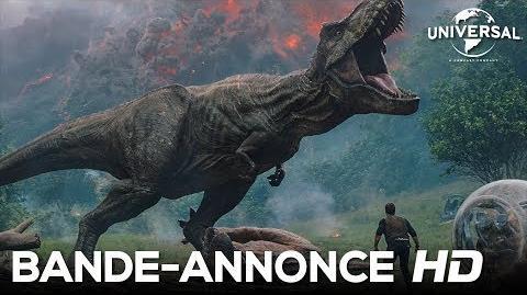 Jurassic World Fallen Kingdom Bande-annonce 1 VF Au cinéma le 6 juin