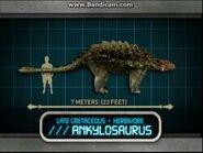 Jurassic Park- Explorer Анкилозавр