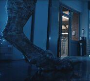 Jurassic world fallen kingdom blue feet by giuseppedirosso-dcmb8xq