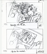 Geosternbergia pulls the pilot out on storyboard