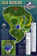 Jurassic World Map Full