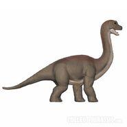 Mattel baby brachiosaurus
